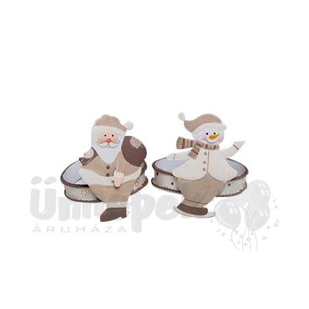 Mikulás/Hóember Szalvétagyűrű (4 db/csomag)