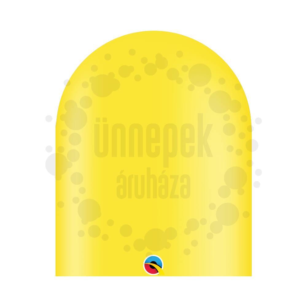 646Q Yellow (Standard) Party Modellező Lufi (10 db/csomag)