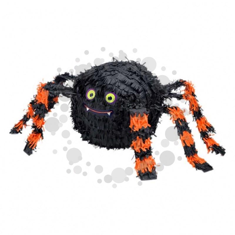 Narancssárga Fekete Pók Parti Pinata Játék Halloween-re