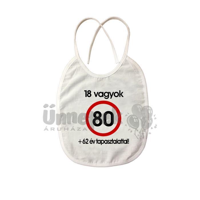 80 éves születésnapi ajándék Sebességkorlátozós Pártedli Szülinapra 80 Éveseknek 80 éves születésnapi ajándék