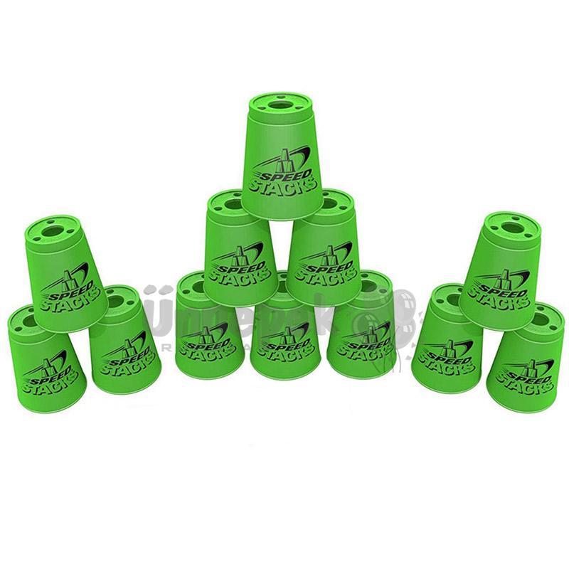 Neon Zöld Sportpoharak, 2. Széria - 12 db-os