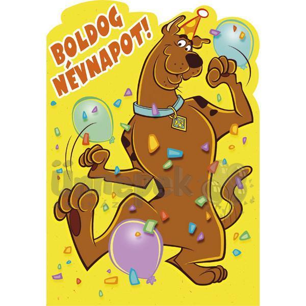 boldog névnapot gyerekeknek Scooby Doo Névnapi Képeslap | Party Kellékek Webshop boldog névnapot gyerekeknek