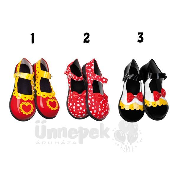 Női Bohóc Cipő - 3 féle  341b5aa517