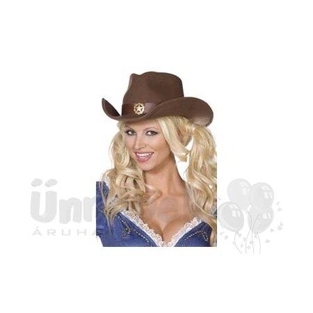 Vadnyugati Barna Női Cowboy Kalap  f06b1885fe
