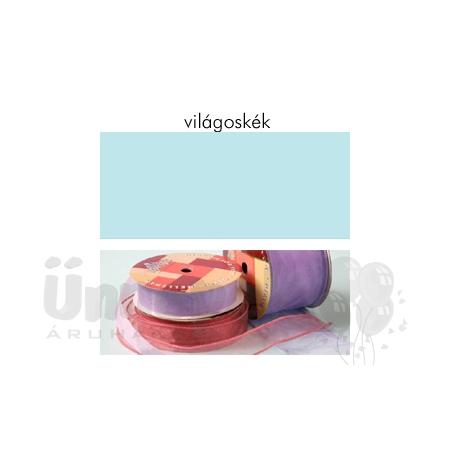 Világoskék Organza Szalag (25 mm x 10 m)  4c0425cf6a