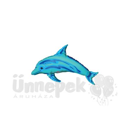 Delfin - Ocean Blue Dolphin Mini Shape Fólia Lufi Pálcán