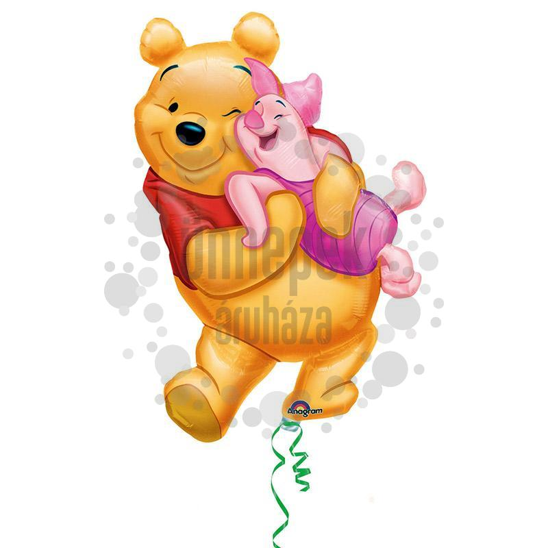 Micimackó - Big Pooh Hug - Super Shape Héliumos Fólia Lufi