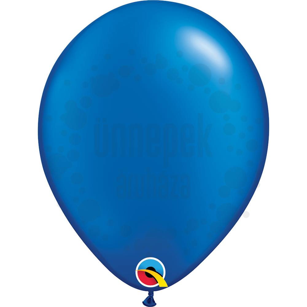 11 inch-es Pearl Sapphire Blue Kerek Lufi (25 db/csomag)