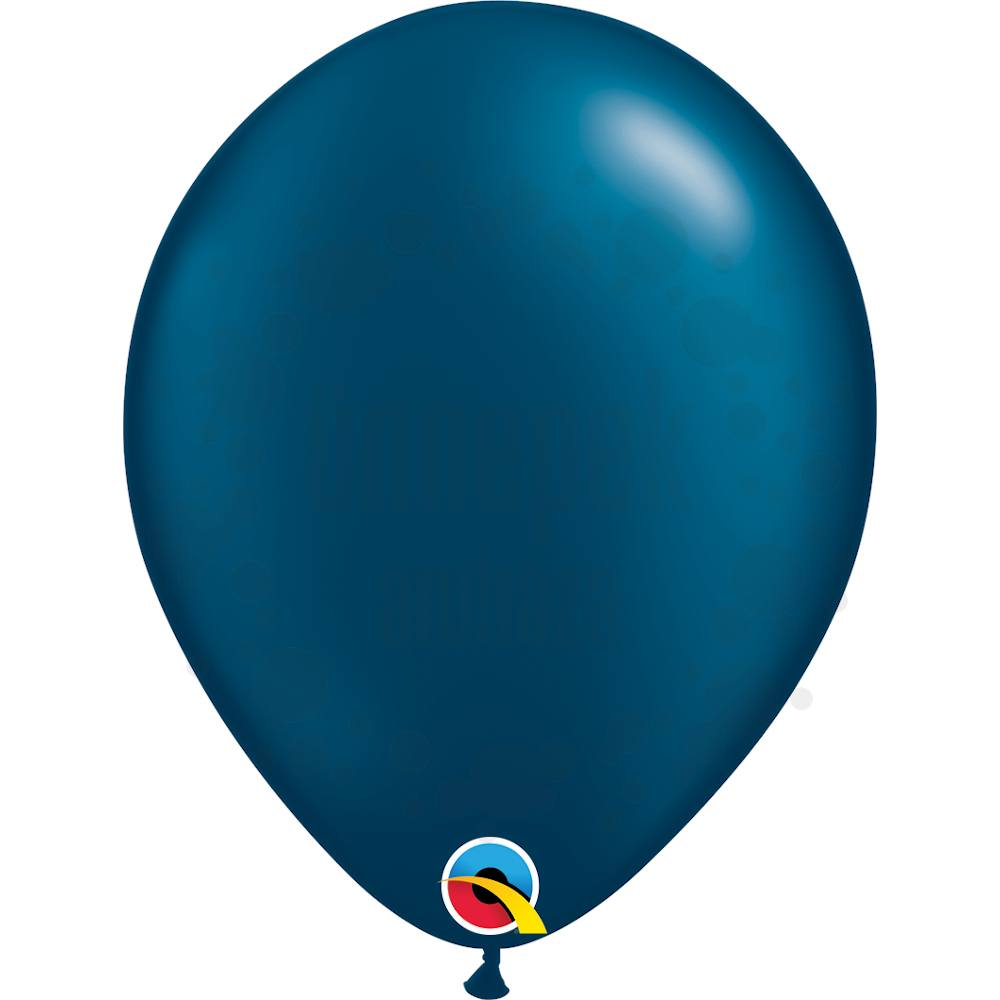 11 inch-es Pearl Midnight Blue Kerek Lufi (25 db/csomag)
