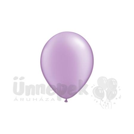 11 inch-es Pearl Lavender Kerek Lufi (25 db/csomag)