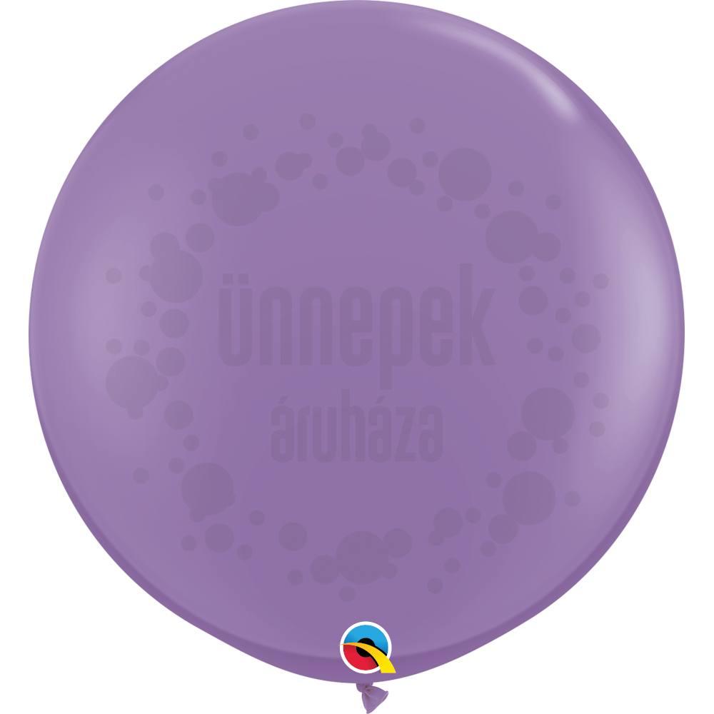 3 feet-es Spring Lilac (Fashion) Kerek Latex Lufi (2 db/csomag)