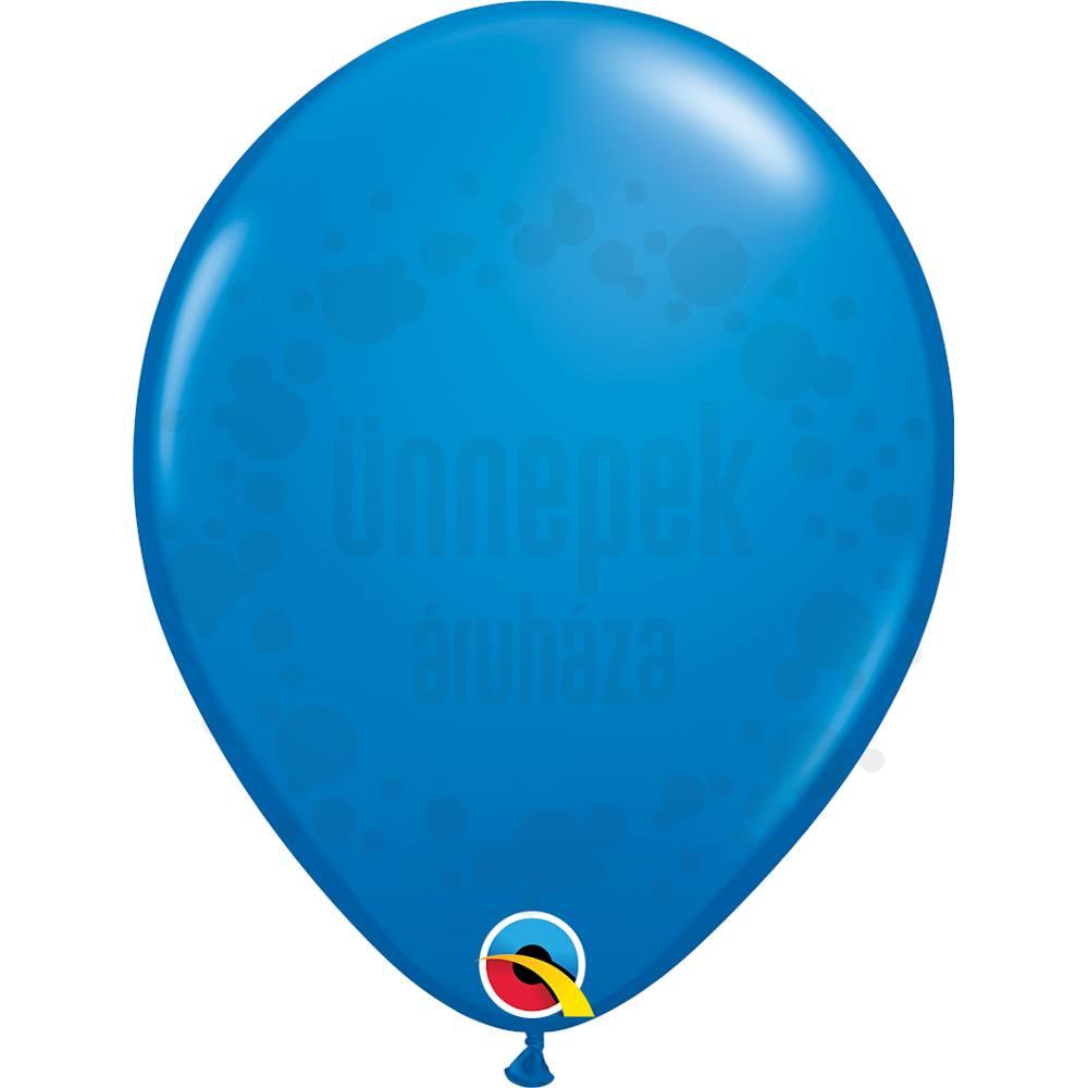 11 inch-es Dark Blue (Standard) Kerek Lufi (6 db/csomag)