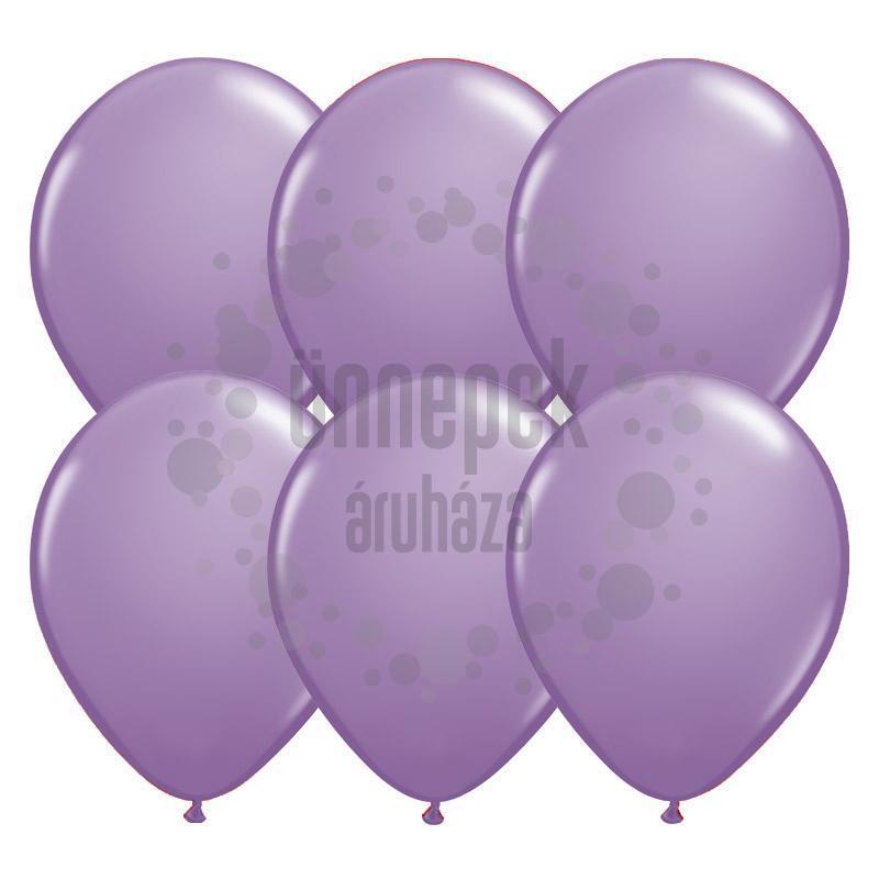 11 inch-es Spring Lilac (Fashion) Kerek Lufi (100 db/csomag)
