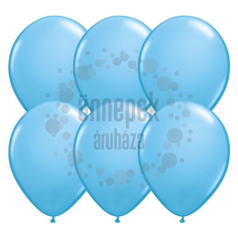 11 inch-es Pale Blue (Standard) Kerek Lufi (100 db/csomag)