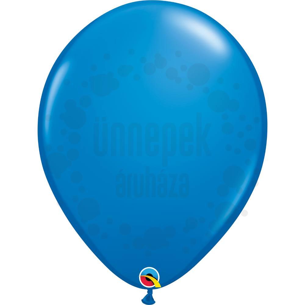 16 inch-es Dark Blue (Standard) Kerek Lufi (10 db/csomag)
