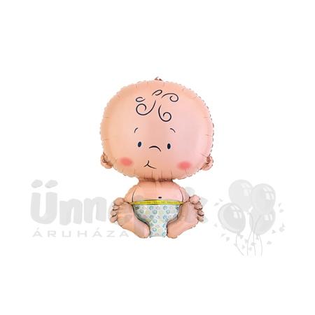 Welcome Baby Super Shape Héliumos Fólia Lufi Babaszületésre