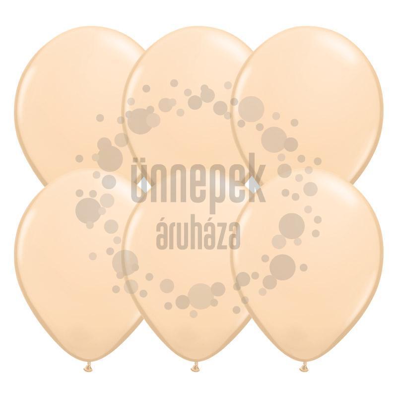 11 inch-es Blush (Fashion) Kerek Lufi (100 db/csomag)