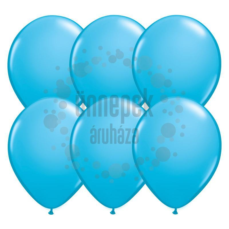 11 inch-es Robins Egg Blue (Fashion) Kerek Lufi (100 db/csomag)