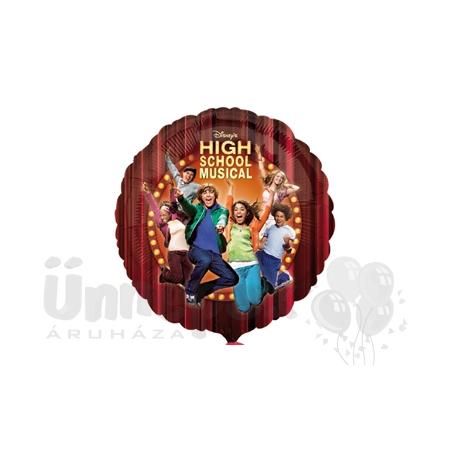 18 inch-es High School Musical Héliumos Fólia Lufi