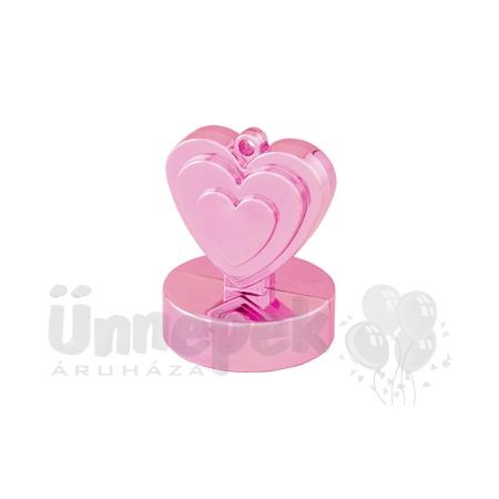 Gyöngyház Rózsaszín (Pearl Pink) Szives Léggömbsúly - 110 gramm