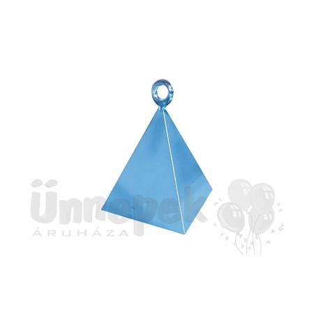 Gyöngyház Világoskék (Pearl Light Blue) Piramis Léggömbsúly - 110 gramm