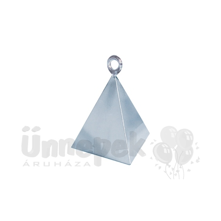 Ezüst (Silver) Piramis Léggömbsúly - 110 gramm