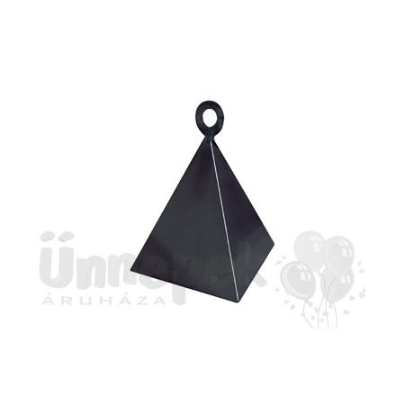 Fekete (Black) Piramis Léggömbsúly - 110 gramm