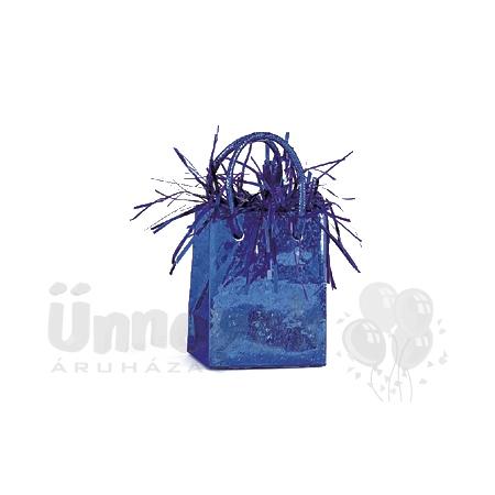 Királykék Prismatic Mini Ajándéktasak Léggömbsúly - 160 gramm