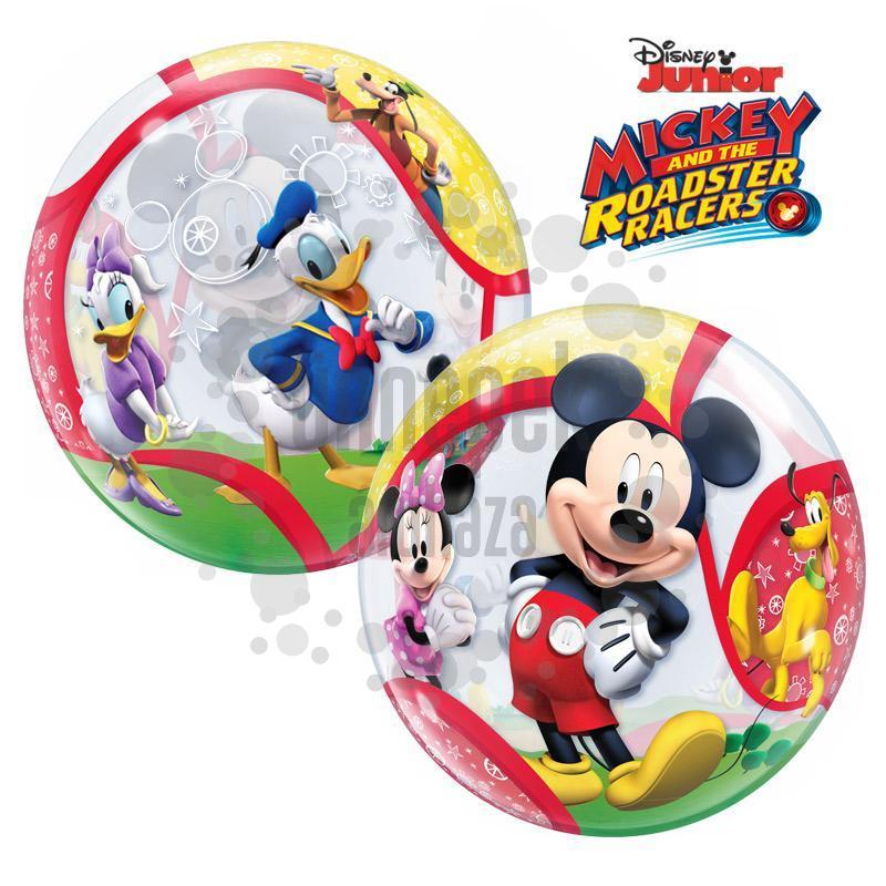 22 inch-es Disney Bubbles Mickey and His Friends Héliumos Lufi