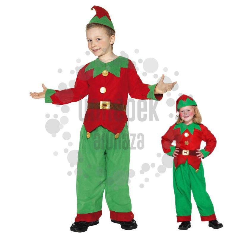 Piros Zöld Manó Farsangi Jelmez Gyerekeknek, L-es
