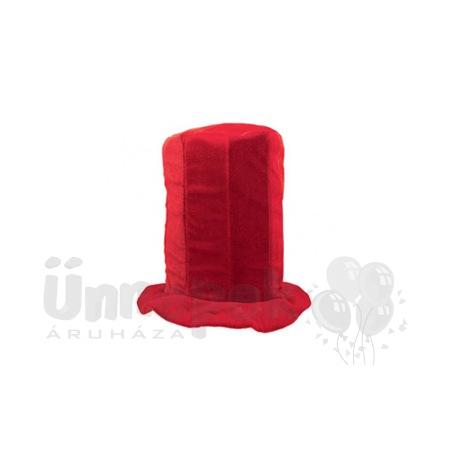 Piros Színű Drukker Parti Kalap 9b8c93f9b6
