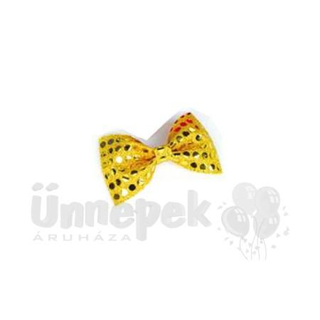 0c8d47987a Arany Flitteres Csokornyakkendő | Party Kellékek Webshop