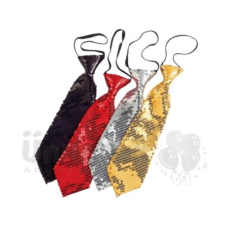 17410718a4 Arany Csillogó Nyakkendő | Party Kellékek Webshop