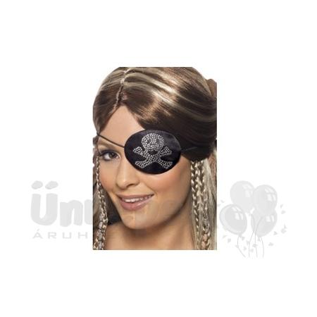 Strasszköves Kalóz (Pirate) Szemfedő