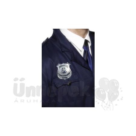 Fém Rendőr Jelvény