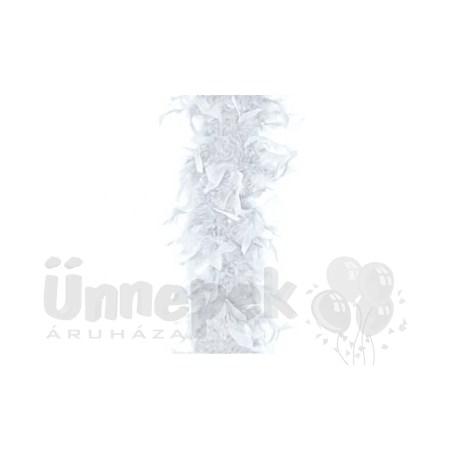 Fehér Toll Boa, 180 cm