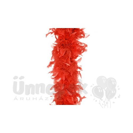 Piros Toll Boa, 180 cm