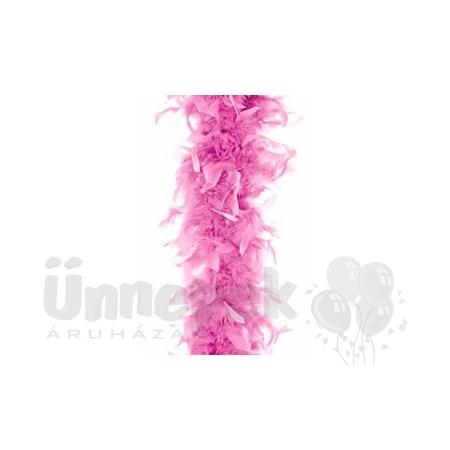 Rózsaszín Toll Boa, 180 cm