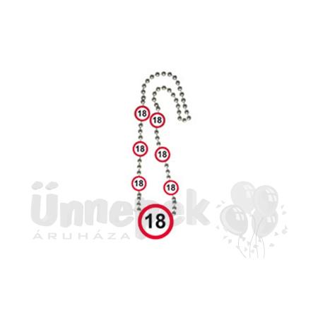 18-as Sebességkorlátozó Számos Szülinapi Parti Nyaklánc