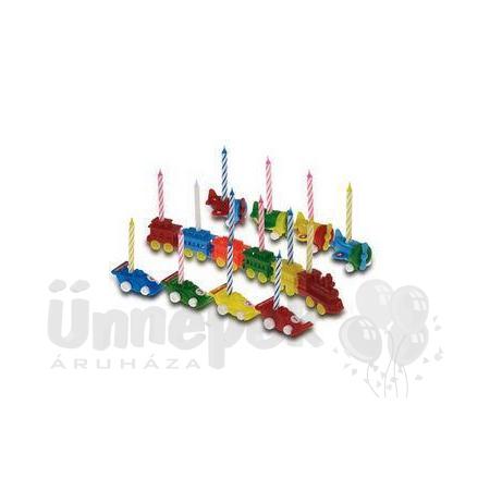 Színes Gyertyák Műanyag Játékokon - 4 db-os