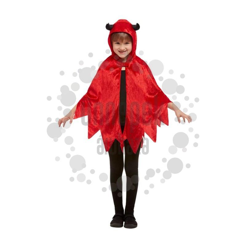 Piros Ördög Köpeny Halloween-re
