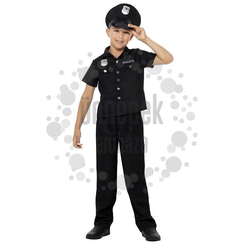 Rendőr Jelmez Gyerekeknek, M-es