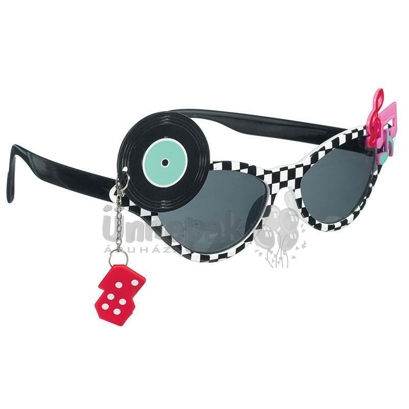50-es Évek Parti Szemüveg