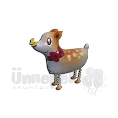Sétáló Bambi Héliumos Lufi