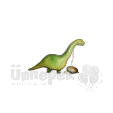 Sétáló Brontoszaurusz Héliumos Lufi
