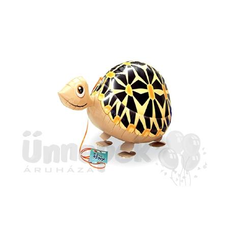 Sétáló Teknős Héliumos Lufi