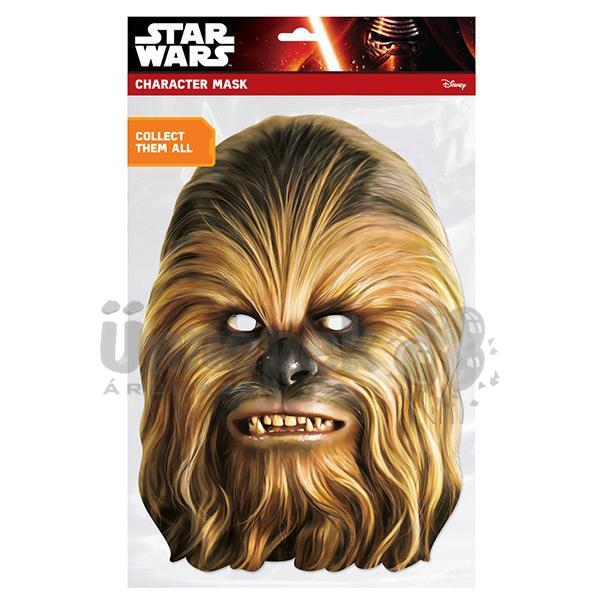 Star Wars - Chewbacca Karton Maszk