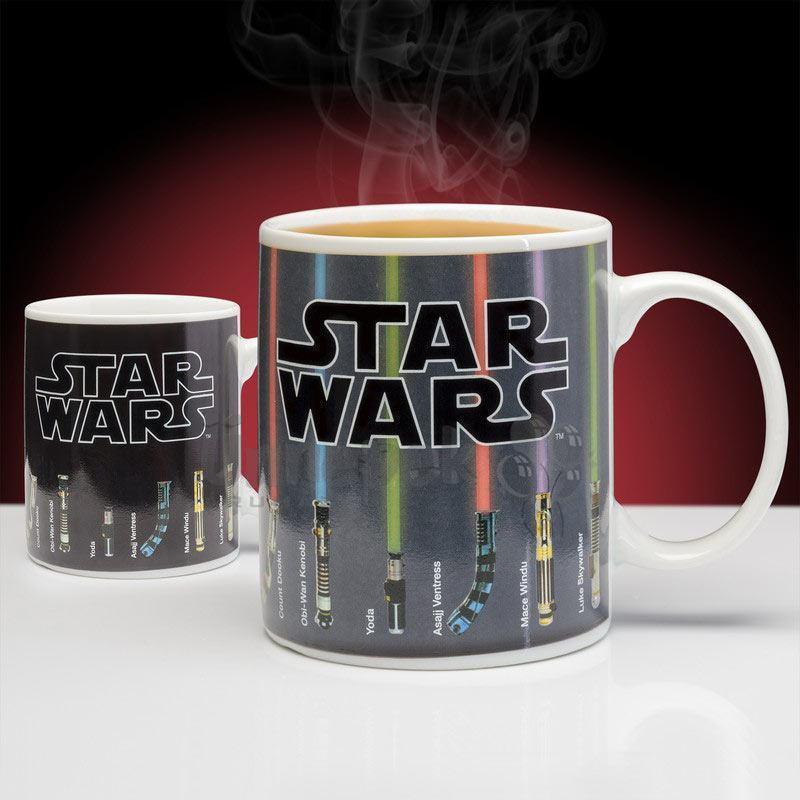 Star Wars Hőre Változó Lézerkard Bögre