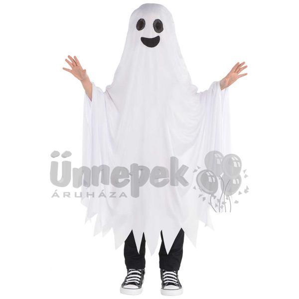 Szellem Jelmez Gyerekeknek Halloween-re, 6-10 Éveseknek
