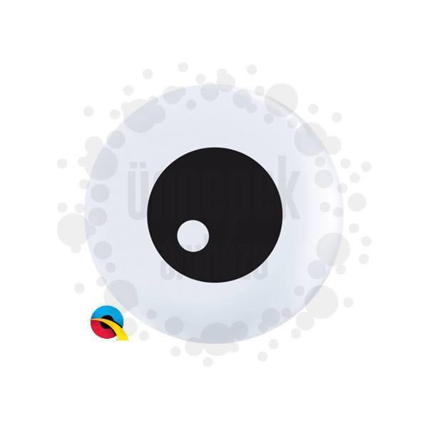5 inch-es Friendly Eyeball Szemek TopPrint Lufi (100 db/csomag)